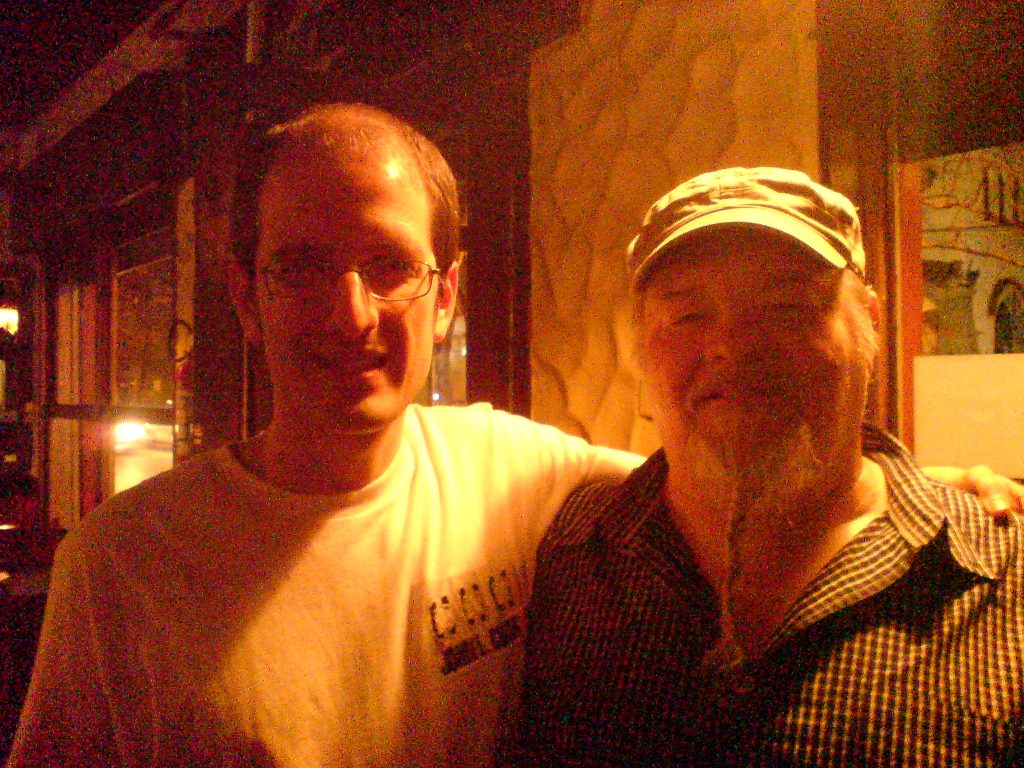 Con James Harman un grande de la armónica de blues!